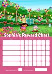Personalised Dora Reward Chart (adding photo option available)